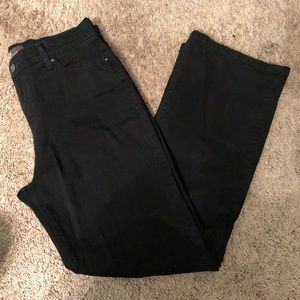 Levi's black high rise bootcut jeans size 12